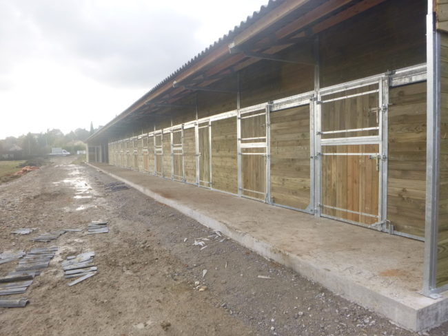 Box extérieur pour chevaux | LMS Bourbonnaise